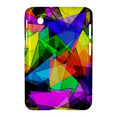 Colorful Triangles                                                                  samsung Galaxy Tab 2 (7 ) P3100 Hardshell Case by LalyLauraFLM
