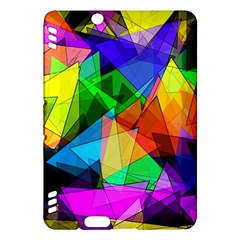 Colorful Triangles                                                                  kindle Fire Hdx Hardshell Case by LalyLauraFLM