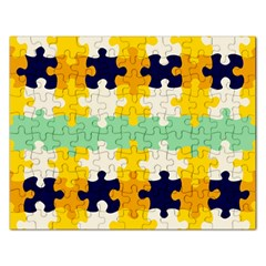 Puzzle Pieces                                                                     			jigsaw Puzzle (rectangular) by LalyLauraFLM