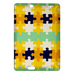 Puzzle Pieces                                                                     kindle Fire Hd (2013) Hardshell Case by LalyLauraFLM