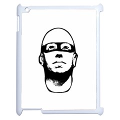 Baldhead Hero Comic Illustration Apple Ipad 2 Case (white) by dflcprints