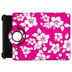Pink Hawaiian Kindle Fire Hd Flip 360 Case by AlohaStore