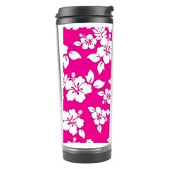 Pink Hawaiian Travel Tumbler by AlohaStore
