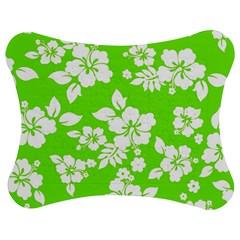 Lime Hawaiian Jigsaw Puzzle Photo Stand (bow) by AlohaStore