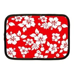 Red Hawaiian Netbook Case (medium)  by AlohaStore