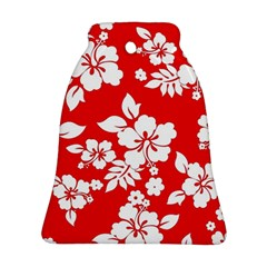 Red Hawaiian Ornament (bell)  by AlohaStore