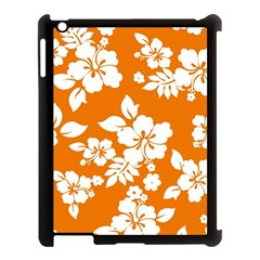Orange Hawaiian Apple Ipad 3/4 Case (black) by AlohaStore