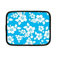Light Blue Hawaiian Netbook Case (small)  by AlohaStore