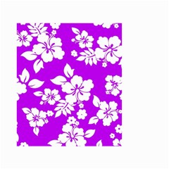 Purple Hawaiian Small Garden Flag (two Sides) by AlohaStore