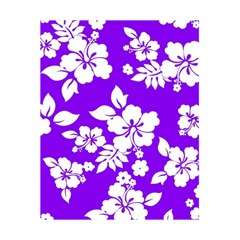 Violet Hawaiian 5 5  X 8 5  Notebooks by AlohaStore