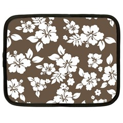 Sepia Hawaiian Netbook Case (large) by AlohaStore