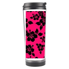 Dark Pink Hawaiian Travel Tumbler by AlohaStore