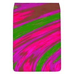 Swish Bright Pink Green Design Flap Covers (s)  by BrightVibesDesign