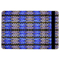 Pattern Tile Blue White Green Ipad Air 2 Flip by BrightVibesDesign
