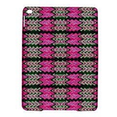 Pattern Tile Pink Green White Ipad Air 2 Hardshell Cases by BrightVibesDesign