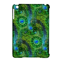 Emerald Boho Abstract Apple Ipad Mini Hardshell Case (compatible With Smart Cover) by KirstenStar