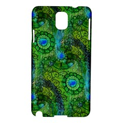 Emerald Boho Abstract Samsung Galaxy Note 3 N9005 Hardshell Case by KirstenStar