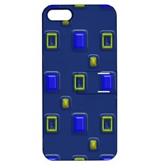 3d Rectangles                                                                      			apple Iphone 5 Hardshell Case With Stand by LalyLauraFLM