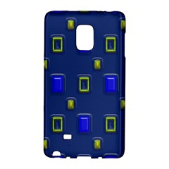 3D rectangles                                                                      			Samsung Galaxy Note Edge Hardshell Case by LalyLauraFLM