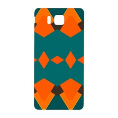Rhombus And Other Shapes                                                                      samsung Galaxy Alpha Hardshell Back Case by LalyLauraFLM