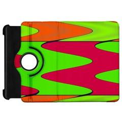 Wavy Design                                                                        kindle Fire Hd Flip 360 Case by LalyLauraFLM