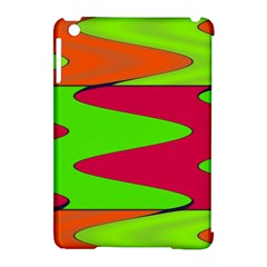 Wavy design                                                                        			Apple iPad Mini Hardshell Case (Compatible with Smart Cover) by LalyLauraFLM
