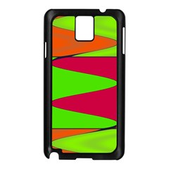Wavy Design                                                                        			samsung Galaxy Note 3 N9005 Case (black) by LalyLauraFLM