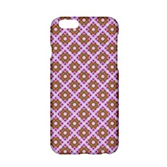 Crisscross Pastel Pink Yellow Apple Iphone 6/6s Hardshell Case by BrightVibesDesign