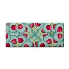 Love Motif Pattern Print Hand Towel by dflcprints