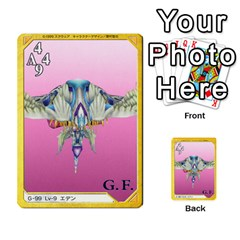 Triad 55 108 By Dave   Multi Purpose Cards (rectangle)   Vg0m3tmr9ydy   Www Artscow Com Back 45