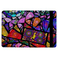 Fractal Stained Glass Ipad Air Flip by WolfepawFractals