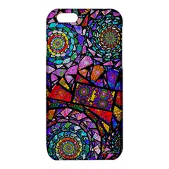Fractal Stained Glass iPhone 6/6S TPU Case by WolfepawFractals
