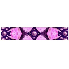 Magic Lotus In A Landscape Temple Of Love And Sun Flano Scarf (large) by pepitasart