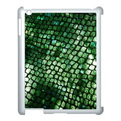 Dragon Scales Apple Ipad 3/4 Case (white) by KirstenStar