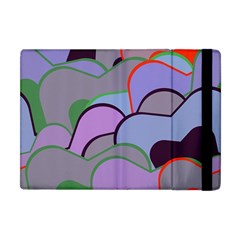 Wavy Shapes Pieces                                                                          apple Ipad Mini Flip Case by LalyLauraFLM