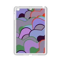 Wavy Shapes Pieces                                                                          			apple Ipad Mini 2 Case (white) by LalyLauraFLM