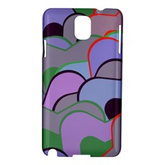 Wavy Shapes Pieces                                                                          samsung Galaxy Note 3 N9005 Hardshell Case by LalyLauraFLM