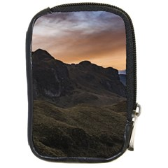 Sunset Scane At Cajas National Park In Cuenca Ecuador Compact Camera Cases by dflcprints