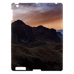 Sunset Scane At Cajas National Park In Cuenca Ecuador Apple Ipad 3/4 Hardshell Case by dflcprints