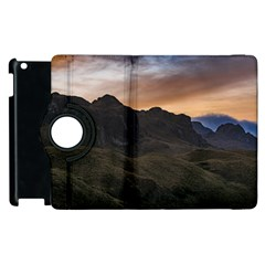 Sunset Scane At Cajas National Park In Cuenca Ecuador Apple Ipad 3/4 Flip 360 Case by dflcprints
