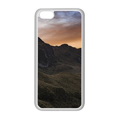 Sunset Scane At Cajas National Park In Cuenca Ecuador Apple Iphone 5c Seamless Case (white) by dflcprints