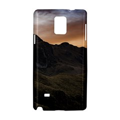 Sunset Scane At Cajas National Park In Cuenca Ecuador Samsung Galaxy Note 4 Hardshell Case by dflcprints
