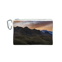 Sunset Scane At Cajas National Park In Cuenca Ecuador Canvas Cosmetic Bag (s) by dflcprints