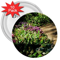 Shadowed Ground Cover 3  Buttons (10 Pack)  by ArtsFolly