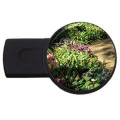 Shadowed Ground Cover Usb Flash Drive Round (2 Gb)  by ArtsFolly