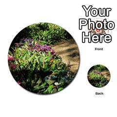 Shadowed Ground Cover Multi Purpose Cards (round)  by ArtsFolly