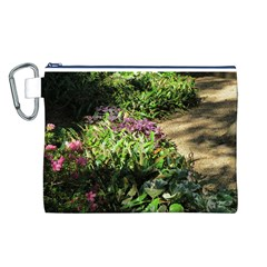 Shadowed Ground Cover Canvas Cosmetic Bag (l) by ArtsFolly