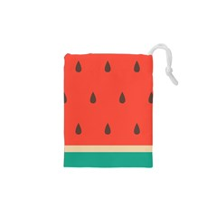 Watermelon Drawstring Pouch (XS) by cowcowstore