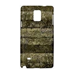 Grunge Stripes Print Samsung Galaxy Note 4 Hardshell Case by dflcprints