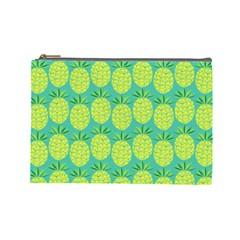 Pineapples Cosmetic Bag (large)  by olgart